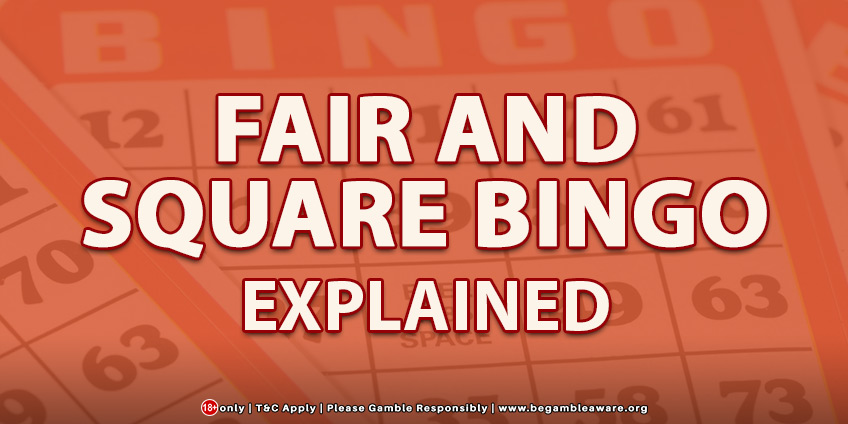 What is Fair and Square Bingo and How is it different