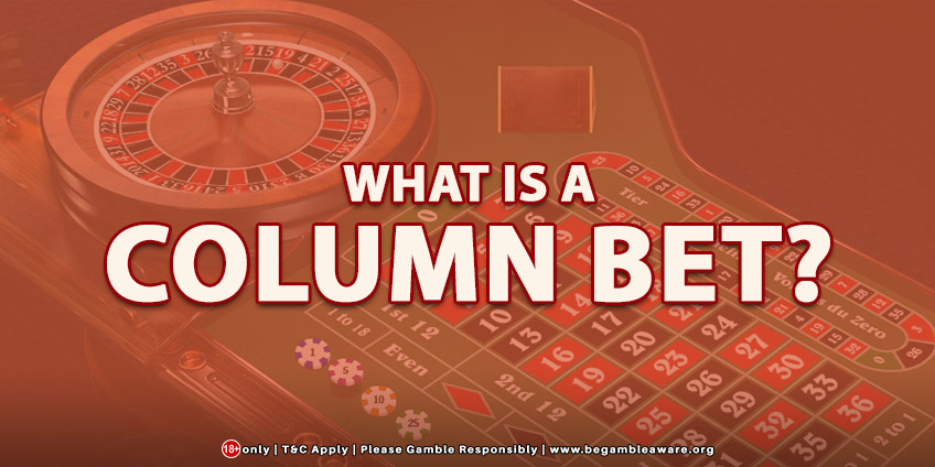 What Is A Column Bet?